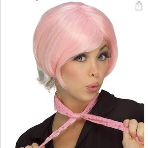🆕 Rubie's Two Tone PIXIE Wig Adult Costume Pink
